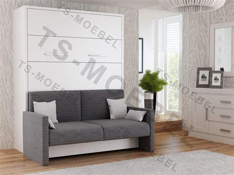 wandbett mit sofa wandbett mit sofa wbs 1 prestige 160 x 200 cm in wei 223