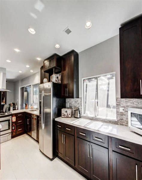paint colors for kitchens with espresso cabinets design