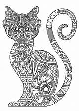 Coloring Cats Cat Children Cool Patterns Popular sketch template