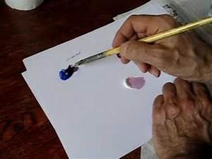 Comment Faire Du Gris En Peinture : cours de peinture comment faire du violet youtube ~ Preciouscoupons.com Idées de Décoration