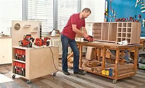 Werkstatt Selber Bauen : mobile werkbank selber bauen werkzeugschrank ~ Orissabook.com Haus und Dekorationen