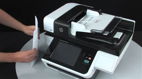 Loading Documents Into Hp Scanjet Flatbed Scanners With An