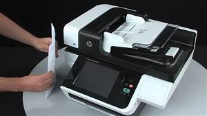 loading documents into hp scanjet flatbed scanners with an With automatic document feeder scanner hp