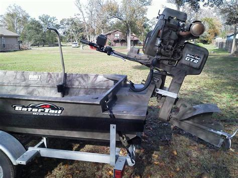 Gator Tail Boat Motors Sale mud motors boats for sale