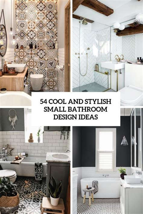 renovating bathroom ideas 54 cool and stylish small bathroom design ideas digsdigs