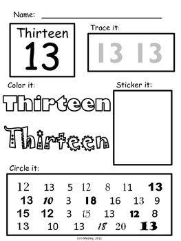 15 Best Images Of Number 10 Worksheets For Prek  Preschool Number Worksheets 1 10