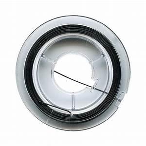 Fil Pour Accrocher Des Photos : fil de fer pour bijoux 0 45 mm noir 10 m tres fil ~ Zukunftsfamilie.com Idées de Décoration