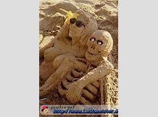Die gruselige Sandburg