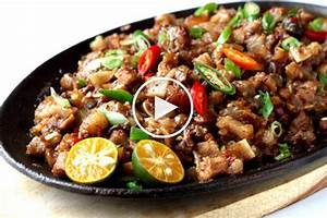 MF Daily - Sizzling Chicken Sisig