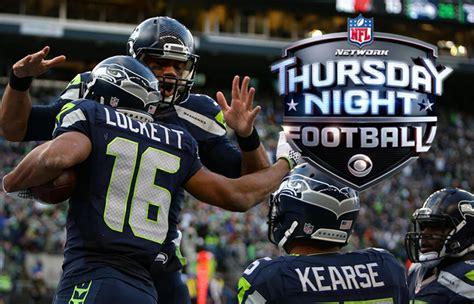 thursday night football rams  seahawks preview