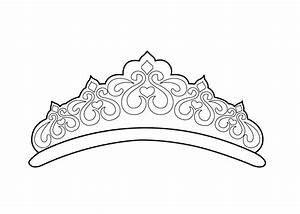 Crown Princes Coloring Page - Coloring Home