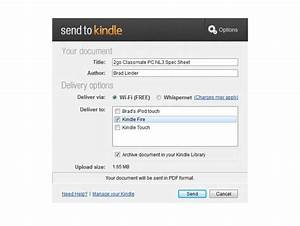 new amazon send to kindle app makes it easy to send With upload documents to kindle