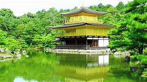 Kinkakuji - Golden Pavilion Temple - Kyoto  Japan