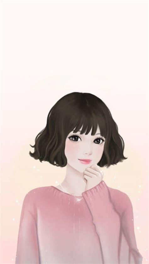 korean girls art images  pinterest anime art