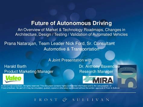 Future Of Autonomous Driving