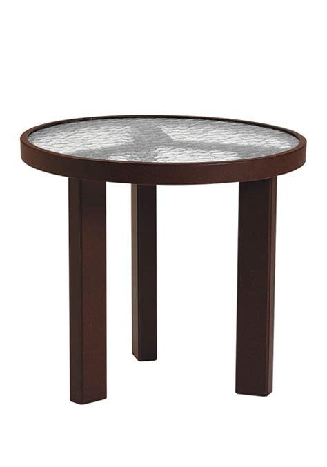 20 tea table acrylic top dinette patio furniture
