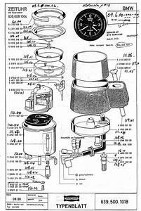 Bmw 1997 Motometer Clock Diagram
