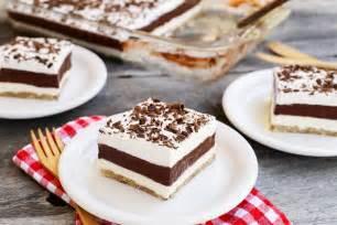 layered chocolate pudding dessert the pioneer
