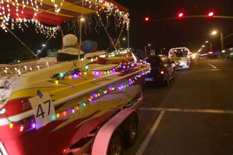 Chino Hills Boat Parade by Boat Parade Cruises Through Chino Hills In Fun Festive