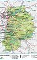 Carte de la Seine-et-Marne - Seine-et-Marne carte des ...