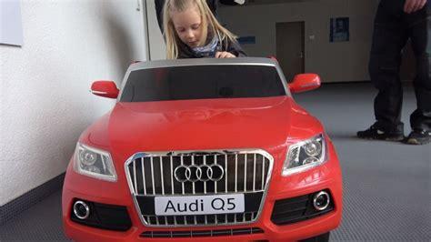 auto für 3 kinder elektro kinderauto kinderfahrzeug audiq5 im euronics test
