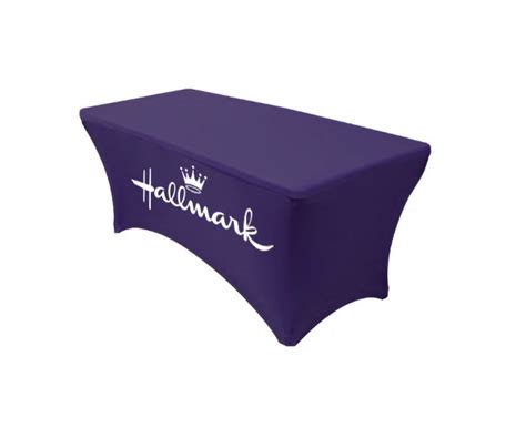 custom table covers with logo trade show table covers with logo custom printed tablecloth