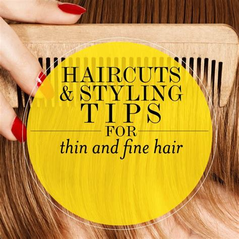 styling tips for thin hair haircuts and styling tips for thin and hair bobs 4446
