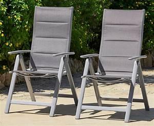 Gartenstühle Alu Stapelbar : merxx gartenstuhl taviano 2er set alu textil verstellbar silber online kaufen otto ~ Watch28wear.com Haus und Dekorationen