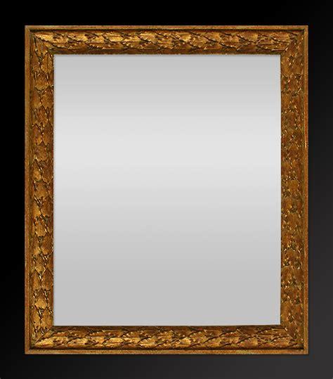 bilderrahmen mit spiegelrahmen spiegel rahmen antike spiegel ornament lorbeerblatt