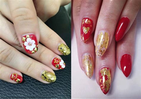 18 Pretty Red Manicures To Get You Inspired For Chinese