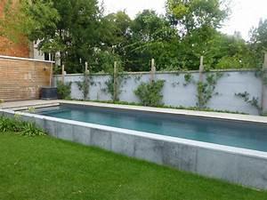 Piscines Semi Enterrées : piscines semi enterr es de piscines carr bleu produit ~ Dallasstarsshop.com Idées de Décoration