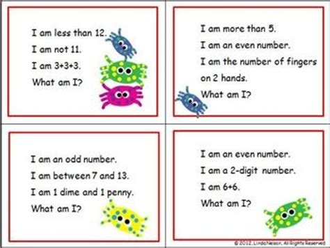 math activities addition subtraction place  riddles