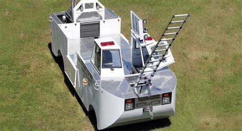 hibious rescue vehicle this angular amphibian rescue vehicle has twin 6 7l diesel