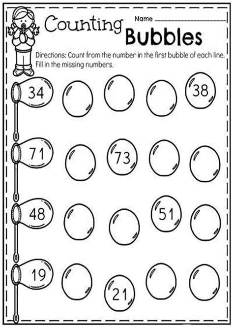 fun missing number worksheets tulamama