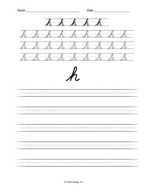 cursive worksheets  images handwriting practice
