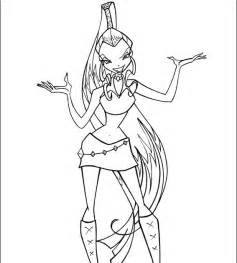 winx fairies fan creations coloring pages With created feb 2003