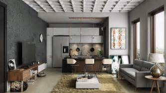 pad home design 23 open concept apartment interiors for inspiration