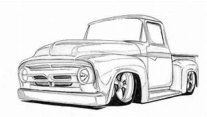 2017 restful drawings garage pinterest With 1955 ford f100 rat
