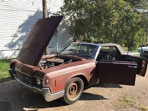 1966 Lincoln Continental Convertible For Parts Or Project
