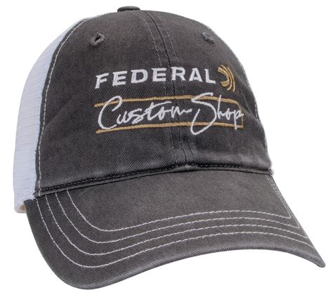 Buy Custom Shop Washed Trucker Hat For Usd 1200 Federal