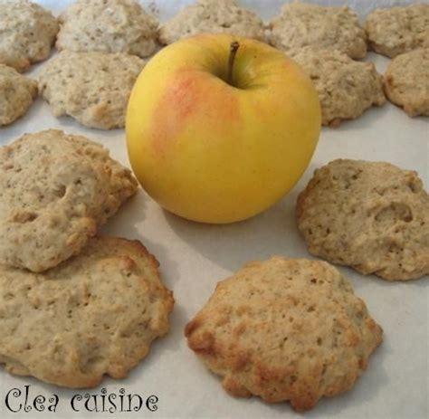 cuisiner la patate douce recettes cookies aux pommes clea cuisine