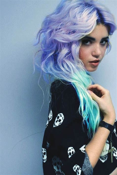 Scene Girl Turquoise Hair Tumblr