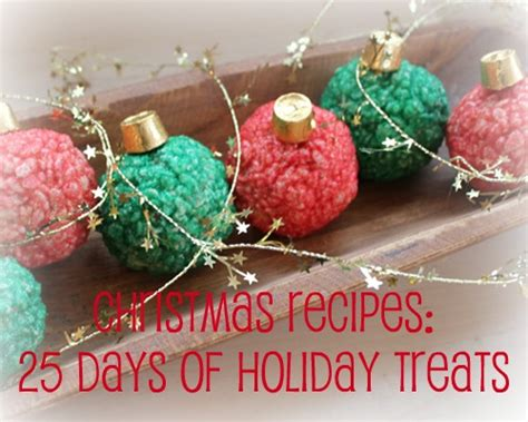 christmas recipes 25 days of holiday treats mommysavers