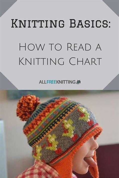 knitting basics   read  knitting chart