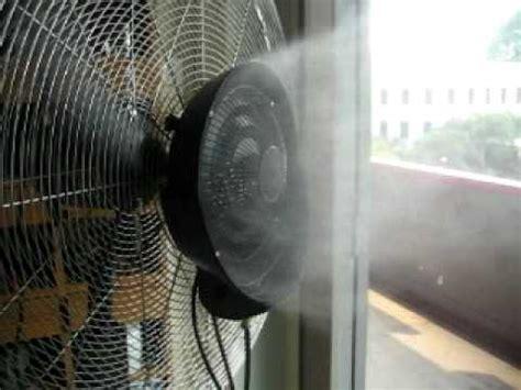 evaporative cooling  centrifuge misting fan www