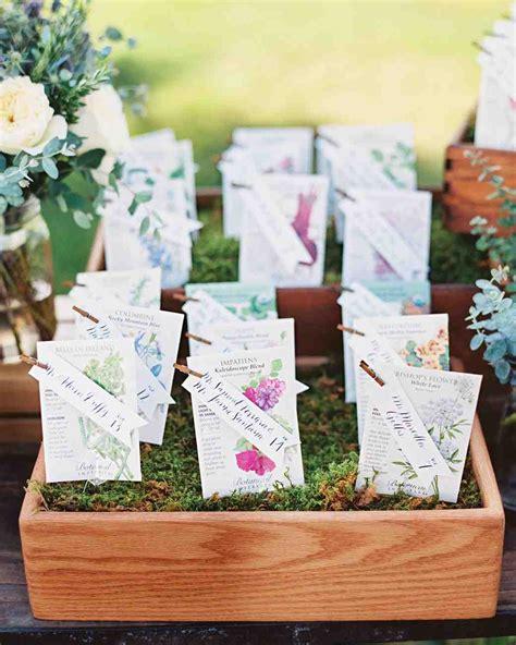 flower  plant wedding favor ideas martha stewart weddings