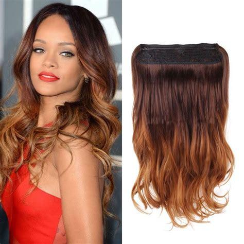 Dark Brown Color Flip In Secret Miracle Wire Hair