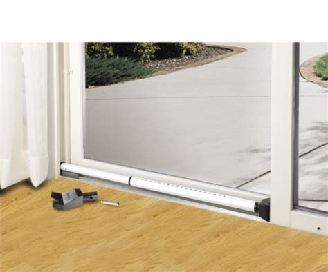 sliding glass patio door security bar master lock dual function security bar the average consumer