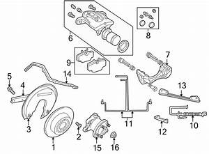 1996 Land Rover Abs Wheel Speed Sensor  Rear   Brake