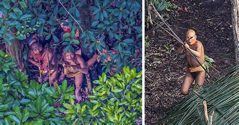 incredible    uncontacted amazon tribe